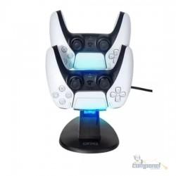 Carregador Duplo Para Controle PlayStation 4 Ps5 Slim Pro - Otvo